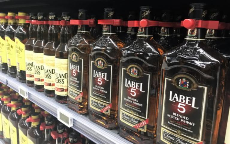 Bottle Cap - winkeldiefstal beveiliging alcohol - Resatec