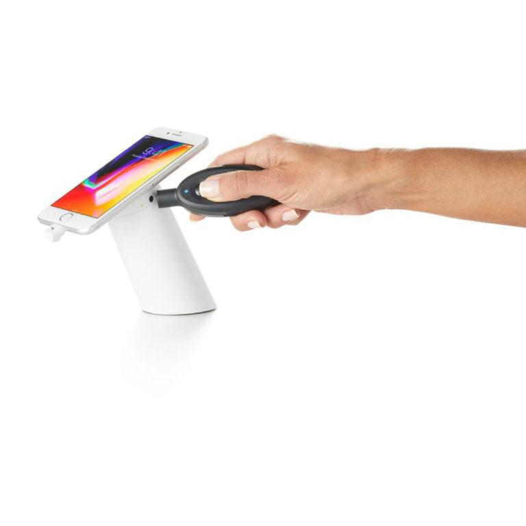 OnePod - slimme winkeldiefstalbeveiliging van Resatec