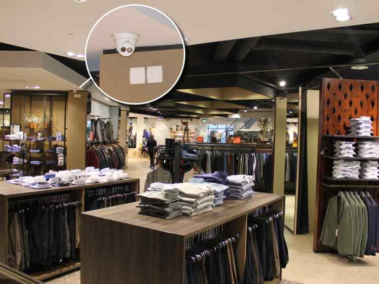 Modehuis Blok houdt steeds een oogje in het zeil met het CCTV-systeem van EAS-Resatec