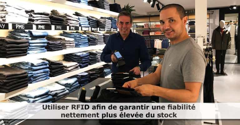 Only for Men déploie la RFID : « Éviter les ventes ratées »