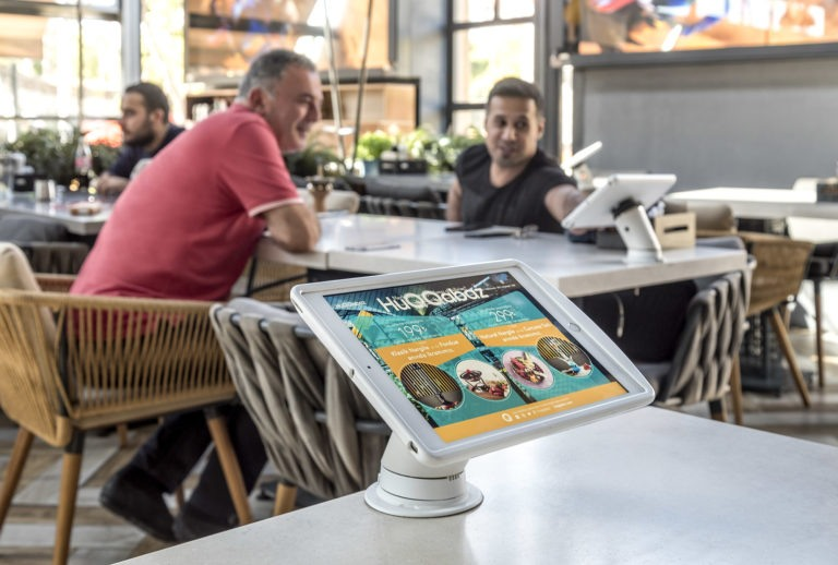 Tablets voor restaurants